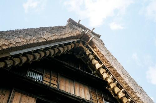 白川郷 合掌造りの屋根