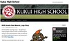 Kukui High Homepage - Home of the Fighting Nuts