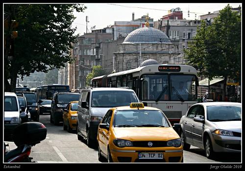 Tráfico en Estambul