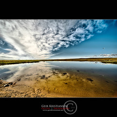 (geirkristiansen.net.) Tags: sky mountain lake reflection water rock stone clouds nikon scenery view angle wide sigma wideangle 1224mm fjell hardangervidda fjellet sigma1224mmf4556 d700