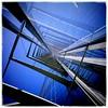 Posttower III (manganite) Tags: blue mobile architecture interestingness bonn explore vignette posttower interestingness48 i500