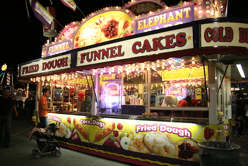 Flashing Funnel Cakes