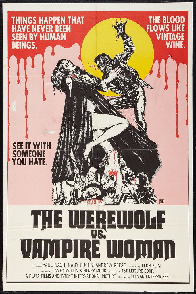 The Werewolf vs Vampire Woman