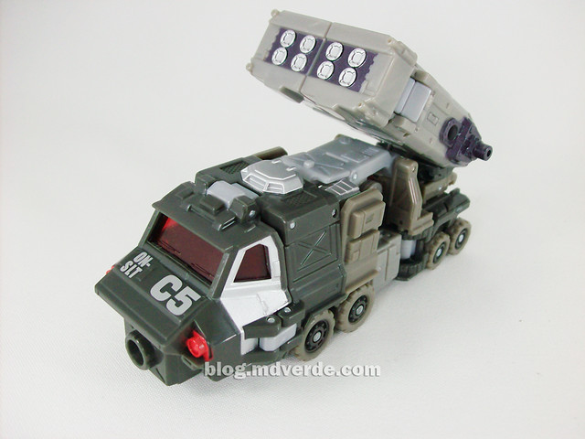 Transformers Onslaught Universe Deluxe - modo alterno