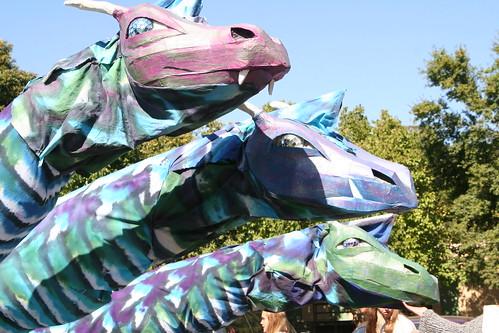 Amazing Three-Headed Dragon