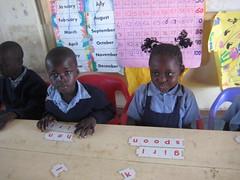 Word games, at school, Ulamba Orphanage, W. Kenya (Moving Mountains Trust) Tags: charity school mountains moving kenya year gap orphanage adventure aid volunteering western teaching volunteer teach development alternative siaya ulamba