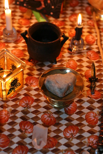 Crystals, Candles and Cauldron