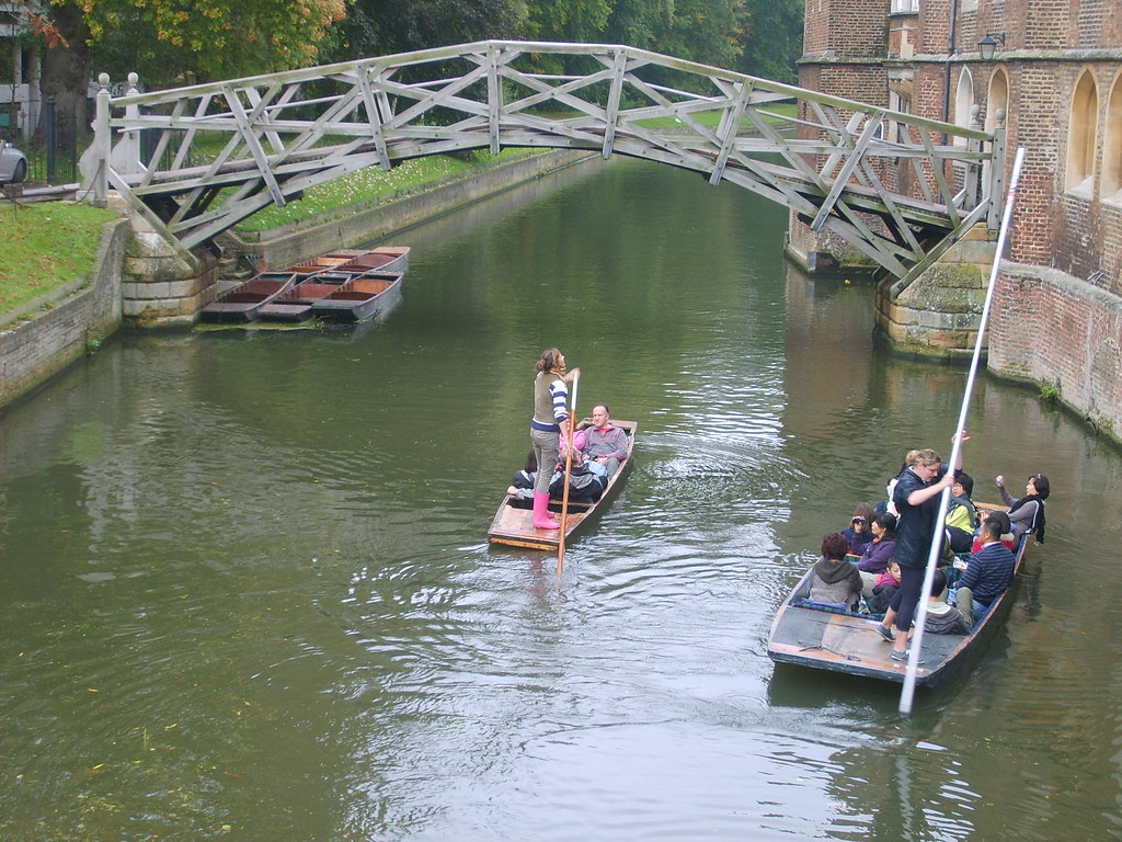 Cambridge Punting / Mathematical Bridge