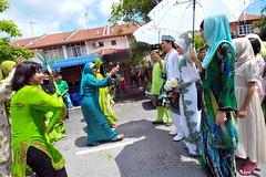 ZAM_3380 (Aggr Photography) Tags: bridge white fun groom photographer candid hijab enjoy malaysia penang potrait pelamin colourfull weddingphotography zamin utara photocamp bersanding pertunangan rajasehari ratusehari aggr bengkelfotografi