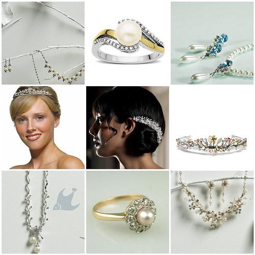 Trendy Wedding Pearl Jewellery 2011