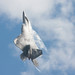 F-22 Raptor creates its own cloud camouflage