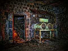 "Miners ""fan collection"" (RNEP) Tags: urban abandoned lost mine place slate exploration hdr verlassen urbex schiefer bergwerk bergbau untertage schieferbergwerk"