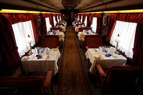 El Transcantabrico - dining car