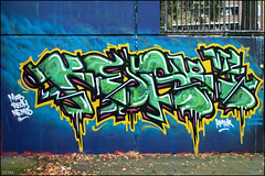 Kesr - Stockwell Oct 2010 (303db) Tags: park uk england london art writing painting graffiti paint artist grafitti estate south united creative kingdom commons can spray crew artists writers painter writer cans write graff aerosol dub brixton lambeth legal dubs crews stockwell authorised sprayer graffer graffers aerasol nikonafs35mmf18gdx