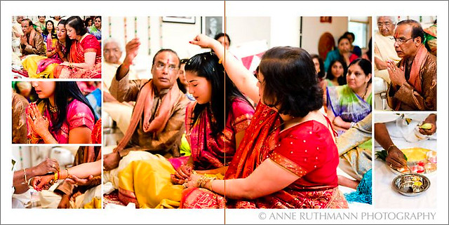 Indian Hindu Grah Shanti Ceremony