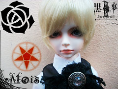 .::Alois Trancy::. (Bunraku Doll) Tags: boy cute real ace blonde bjd alois dollfie dim msd shota kodona trancy  kuroshitsujiii   pornobimbi