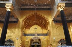 باب القبلة الداخلية في الصحن العباسي المقدس