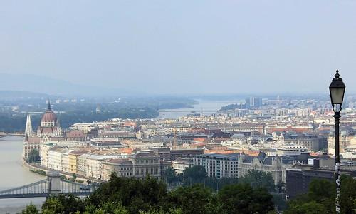 Vista de la ciudad de Budapest