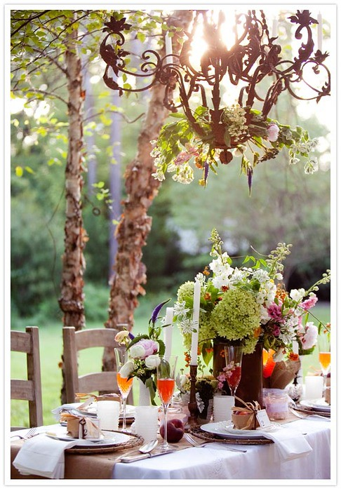 table setting via 100layercake
