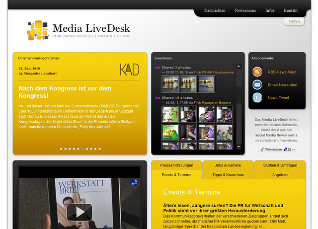 Media LiveDesk by mediaquell