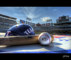 Playoff Ready (Cliff_Baise) Tags: nikon baseball stadium bat playoffs hdr texasrangers mlb joshhamilton michaelyoung clifflee iankinsler elvisandrus d700 vladguerrero