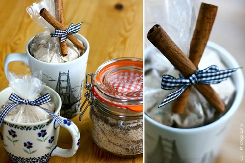Tea sugar salt Gift wrapping Idea