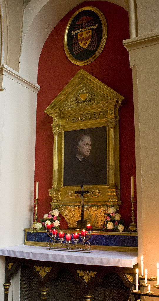 Shrine of Blessed John Henry Newman (Oxford Oratory)