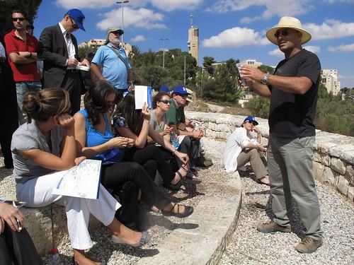 Geneva Initiative - Jerusalem Borders Tour