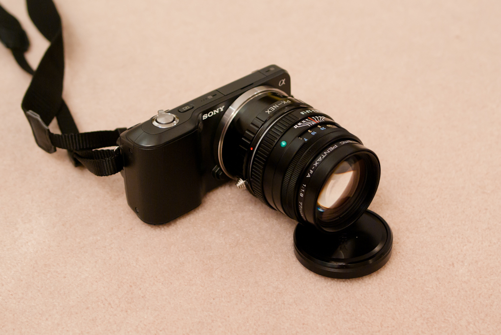 Sony NEX-3 Pentax 77mm f1.8
