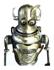 Fordomatic (Tinkerbots) Tags: auto sculpture art ford make car metal trash radio vintage toy robot junk antique assemblage unique character creative conservation pickup retro scifi imagine recycle recycling scrap salvage remake comicon reuse steampunk danjones redivivus tinkerbots
