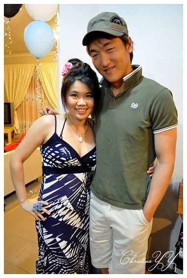 surprise Farewell Party: Me and Daren