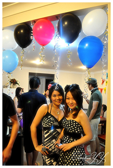 surprise Farewell Party: Me and Cynthia