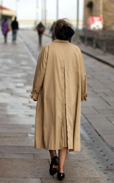 uma senhora inglesa na Ribeira