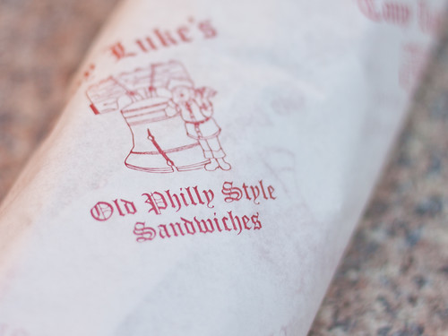 Tony Luke's wrapper