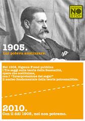 00_Freud (designnostop) Tags: design no milano postcard stop politecnico facoltà ddl gelmini designnostop