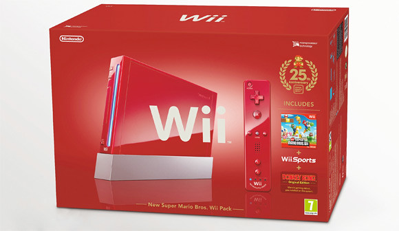 Thumb Nintendo Wii y DSi XL de color ROJO en honor a los 25 años de Super Mario Bros