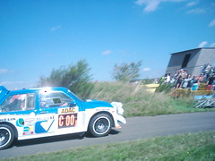 Computervision MG Metro 6R4 running at 00 for the Slowly Sideways show (74Mex) Tags: old deutschland metro rally mg slowly platte timer sideways 2010 computervision 6r4 historics kleine panzerplatte moselland moselwein