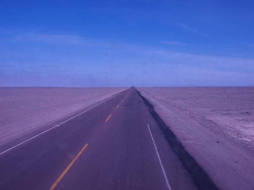Desierto desde el autobús (2)