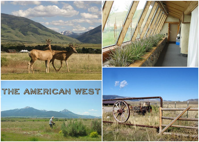 out west collage