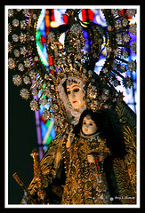 The Many Faces of Our Lady of the Rosary La Naval de Manila 10.10.10 (davyop) Tags: de la manila naval