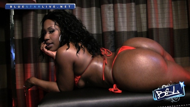 BSL - Jazzie Belle - Red Thong 06