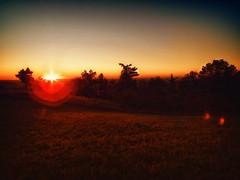Morning Flame (dbnunley) Tags: sunrise landscape virginia finepix blueridgemountains hdr blueridgeparkway hs10 nikcolorefexpro topazsimplify topazdetail nikhdrefexpro