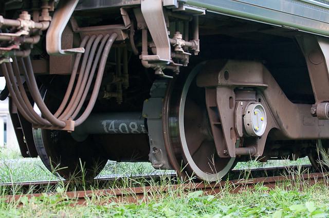 京王電鉄3000系3029F デハ3129F 輪軸