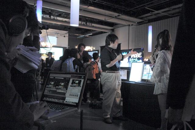 3D-TV live-broardcasting demo