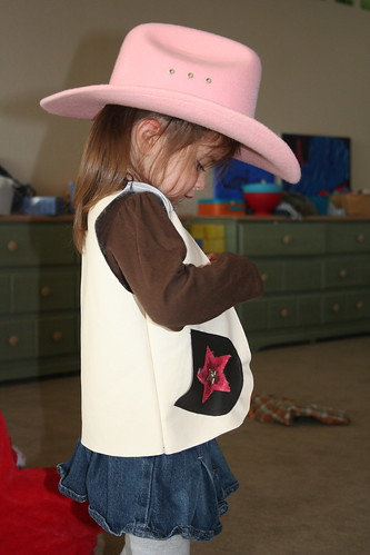 The littlest cowgirl