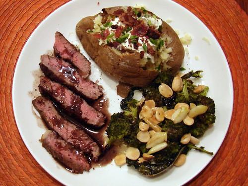 Dinner:  October 15, 2010
