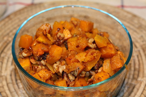 Roasted Butternut Squash with Walnuts and Vanilla