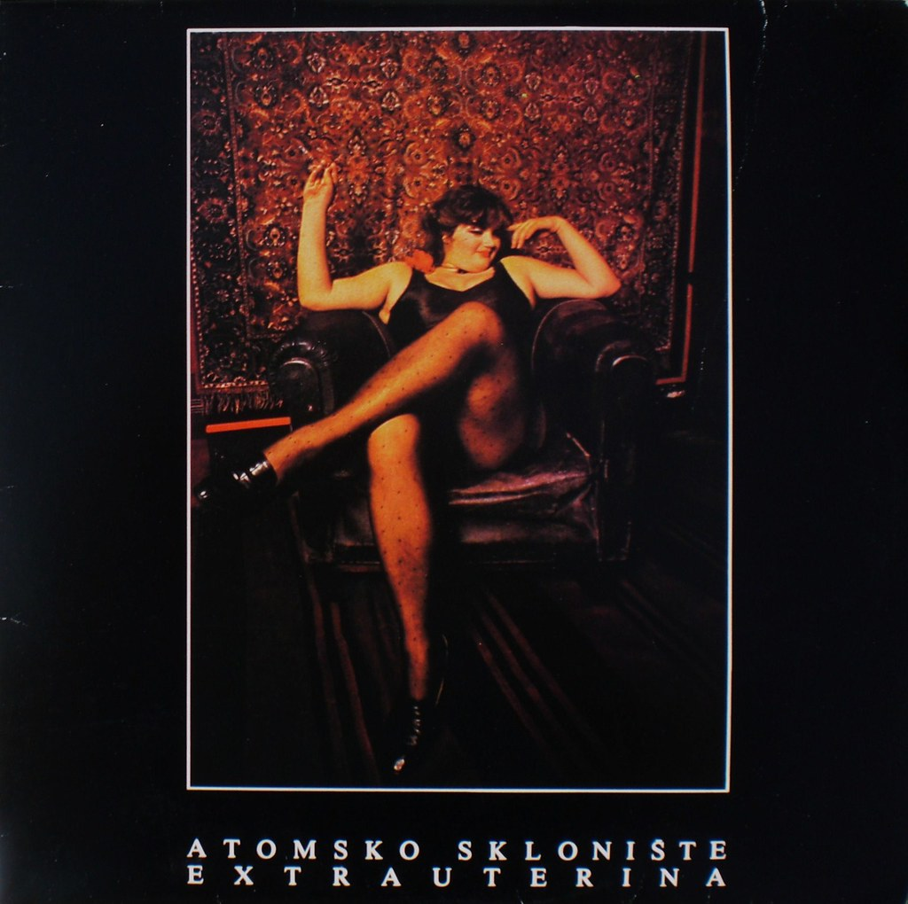 EXTRAUTERINA by Atomsko Skloniste LP front cover