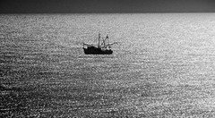 in solitude (bdaryle) Tags: bw silhouette boat bn atlanticocean brandondaryle bdaryle imagesbybrandon