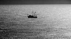 in solitude (bdaryle) Tags: bw silhouette boat bn atlanticocean brandondaryle bdaryle imagesbybrandon